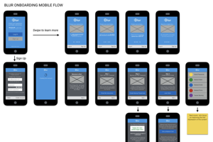 example of a consumer mobile app that i designed from scratch